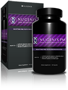 Bottle of Nugenix<sup>&reg;</sup> PM-ZMA