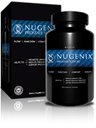 Bottle of Nugenix<sup>&reg;</sup> Prostate Health Support